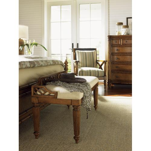 Tommy Bahama - Plantain Bed Bench