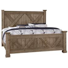 X Bed with X footboard