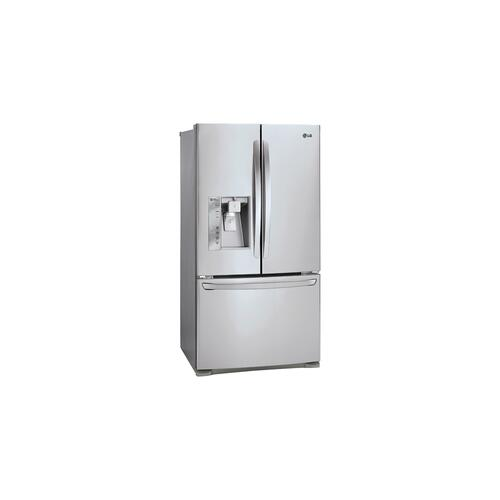 "36"" Counter Depth French Door Refrigerator With Slim Spaceplus Ice System, 24 CU.FT."