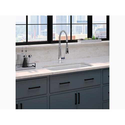 "Thunder Grey 33"" X 22"" X 9-5/8"" Undermount Single-bowl Kitchen Sink"