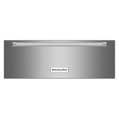 KitchenAid - 30'' Slow Cook Warming Drawer Stainless Steel