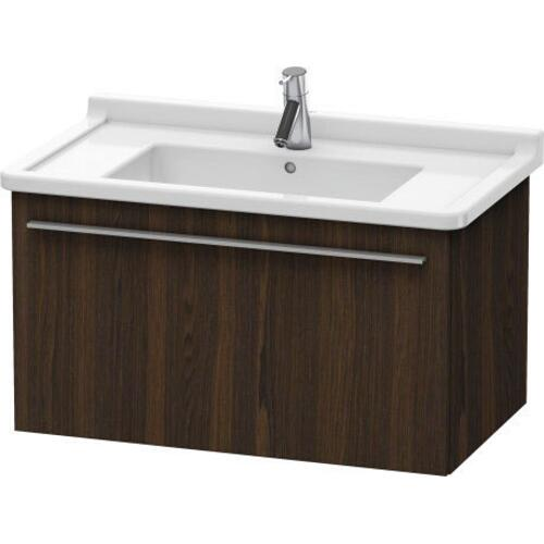 Product Image - Vanity Unit Wall-mounted, Brushed Walnut (real Wood Veneer)
