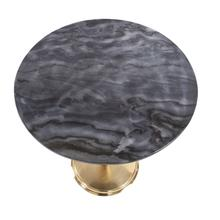 View Product - Micca Club Black Marble Bistro Table