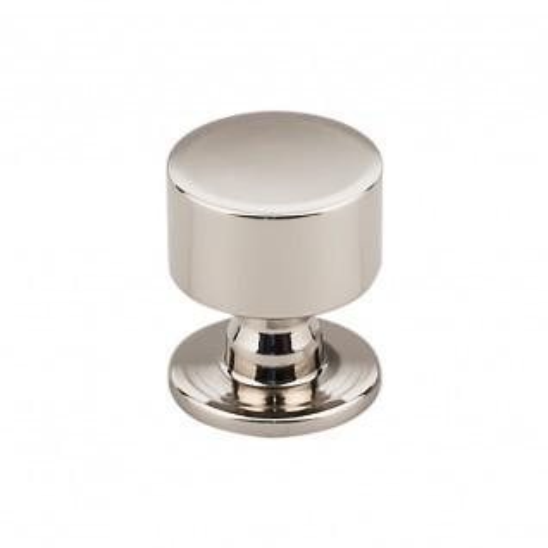 Lily Knob 1 1/8 inch - Polished Nickel