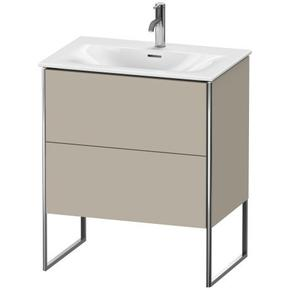 Vanity Unit Floorstanding, Taupe Satin Matte (lacquer)