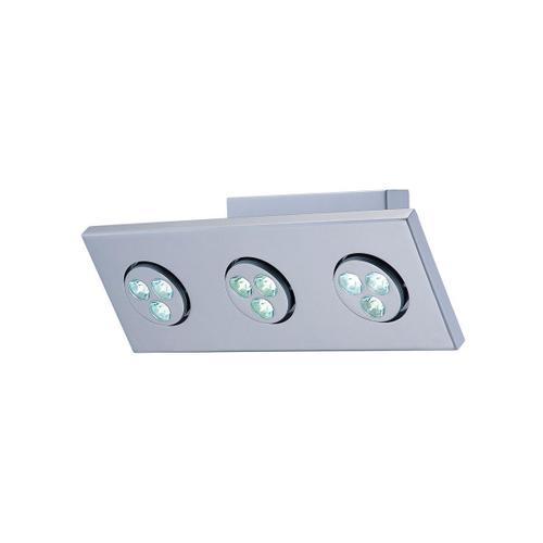 Lite Source - LED 3-lite Wall Lamp, Silver, (1wx3)*3 Sets, Dci