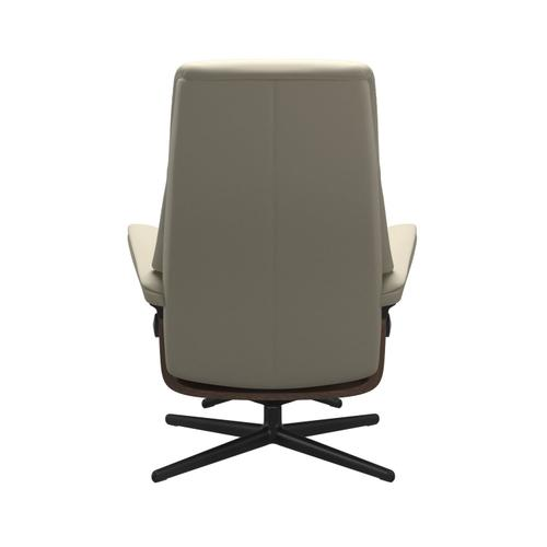 Stressless By Ekornes - Stressless® View (L) Cross Chair with Ottoman