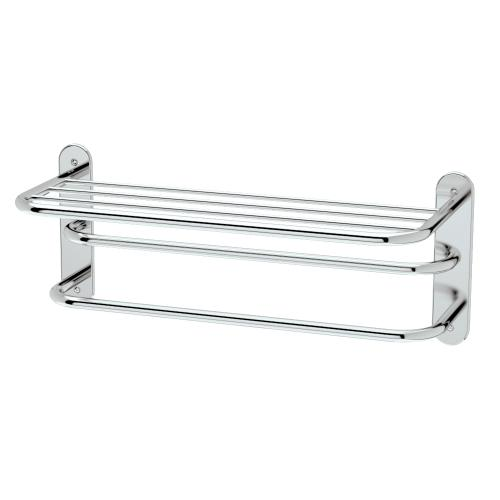 """Spa Rack - 26 1/2""""L by 10 1/2""""H in Chrome"""