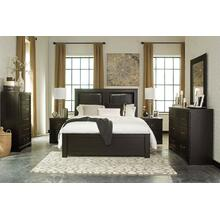 Tadlyn - Dark Brown 5 Piece Bedroom Set