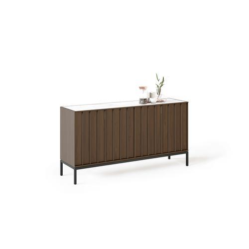 BDI Furniture - Cosmo 5729 Storage Console in Toasted Walnut