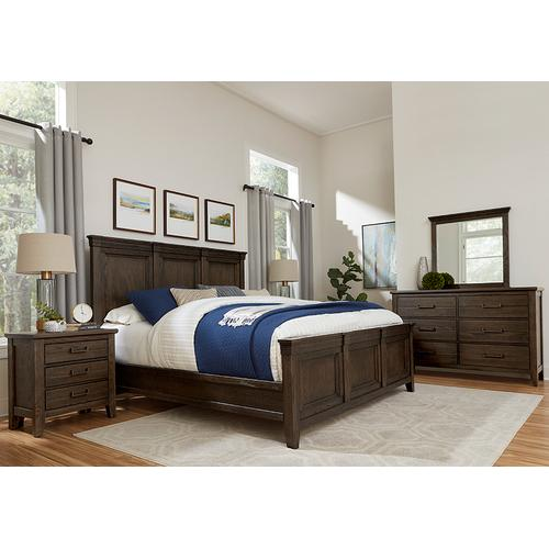 MANSION BED WITH MANSION FOOTBOARD