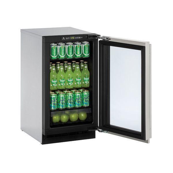 "U-Line2218rgl 18"" Refrigerator With Stainless Frame Finish (115 V/60 Hz Volts /60 Hz Hz)"