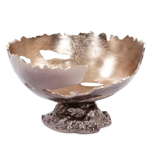 Howard Elliott - Pompei Cast Aluminum Bowl, Small