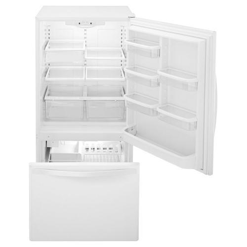 Whirlpool Canada - Whirlpool® 22 cu. ft. Bottom-Freezer Refrigerator with Freezer Drawer