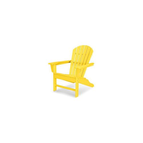 Polywood Furnishings - South Beach Adirondack in Lemon