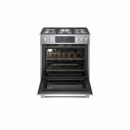 800 Series Dual Fuel Slide-in Range 30'' Stainless Steel HDI8056U