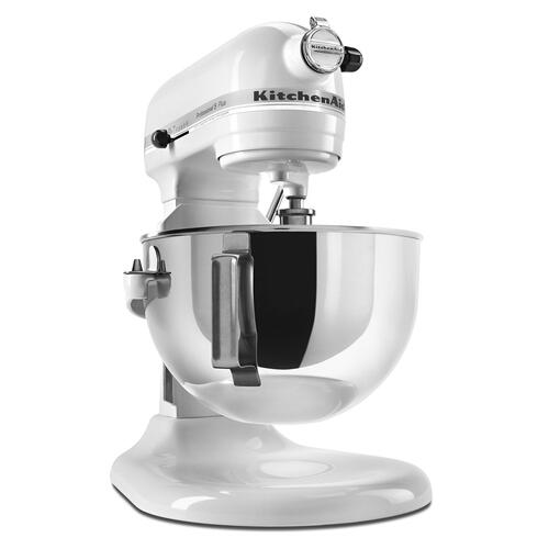 Professional 5 Plus Series 5 Quart Bowl-Lift Stand Mixer White