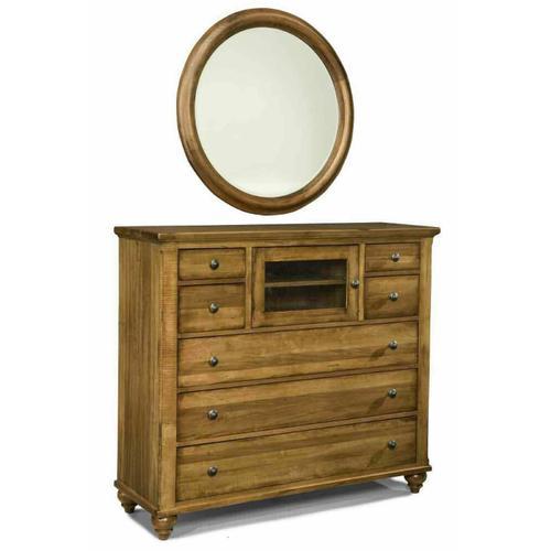 Durham Furniture - Round Mirror