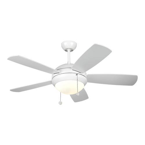 """44"""" Discus II Fan - White"""