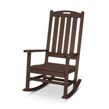 View Product - Nautical Porch Rocking Chair in Mahogany