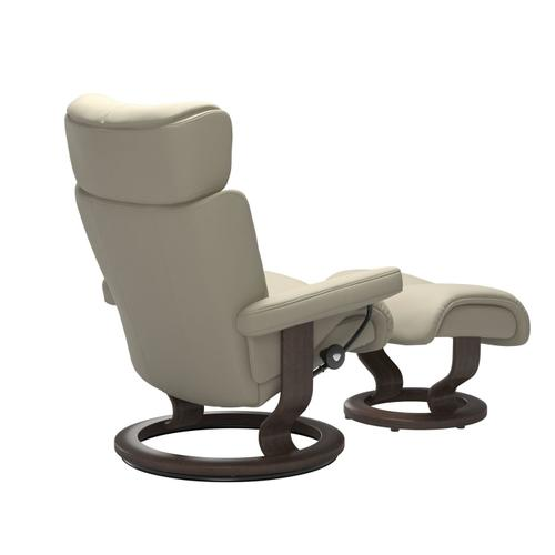 Stressless By Ekornes - Stressless® Magic (S) Classic chair with footstool