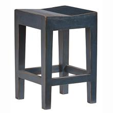 Counter Stool- 2/CTN - Navy Blue Finish