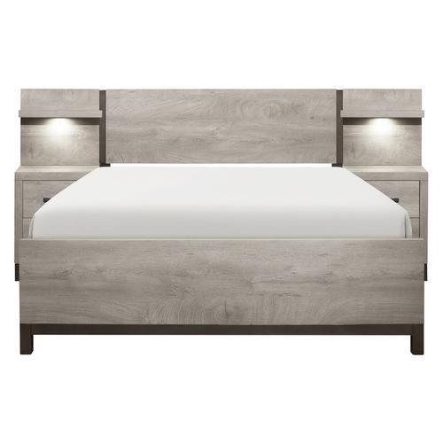 Homelegance - 5pc Set Queen Wall Bed (QB+2NS+2NS-P)