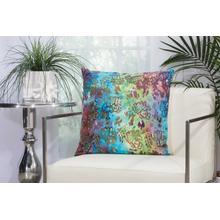 """Outdoor Pillows Ti776 Multicolor 20"""" X 20"""" Throw Pillow"""