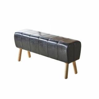 ACME Dessa Bench - 72133 - Black PU & Natural