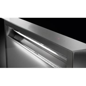 "Faber30"" downdraft gray glass hood"