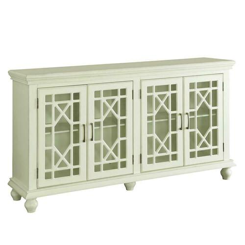 Gallery - Traditional Antique White Accent Cabinet