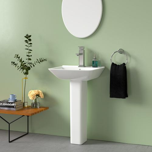 Eden 520 Pedestal Lavatory - Single-Hole