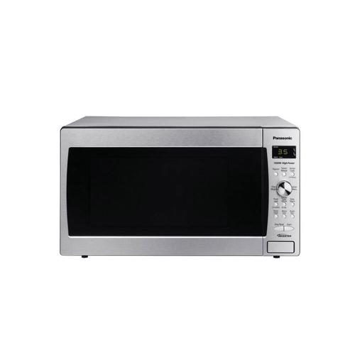 Panasonic - Family-Size 1.2 cu. ft. Countertop Microwave Oven with Inverter Technology, Stainless