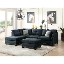 LAURISSA DARK BLUE LF SEC.SOFA
