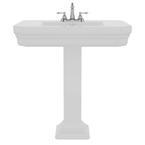 "Corbin Pedestal Lavatory - 4"" Centerset"
