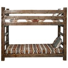 Homestead Collection Twin Bunkbed, Stain and Lacquer Finish
