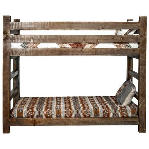 Montana Woodworks - Homestead Collection Twin Bunkbed, Stain and Lacquer Finish