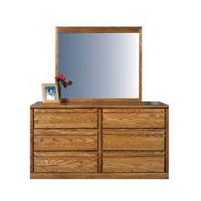 See Details - Forest Designs Bullnose Six Drawer Dresser: 60W x 32H x 18D