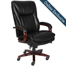 See Details - Edmonton Big & Tall Executive Office Chair, Black