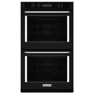 """30"""" Double Wall Oven with Even-Heat™ True Convection Black Product Image"""