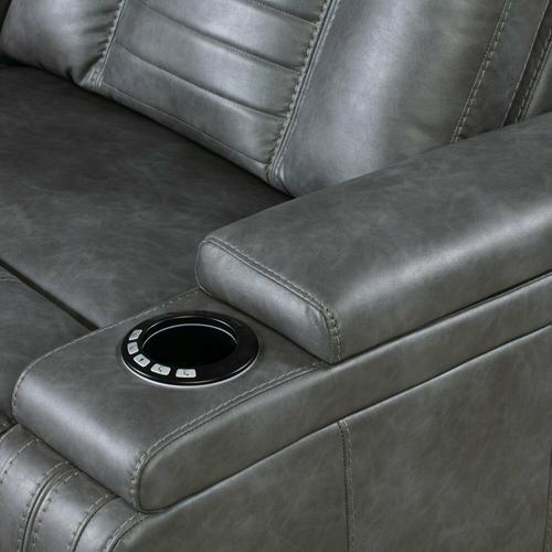 Parker House - MEGATRON TINSMITH Power Drop Down Console Sofa