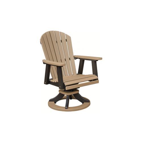 Berlin Gardens - Comfo Back Swivel Rocker Dining Chair