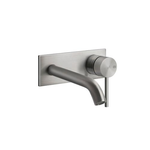 Trim parts for wall-mounted washbasin mixer, with spout, lenght on request