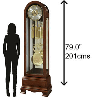 See Details - Howard Miller Jasper Grandfather Clock 611204