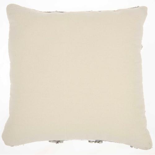 "Life Styles Dl901 Lt Grey 18"" X 18"" Throw Pillow"