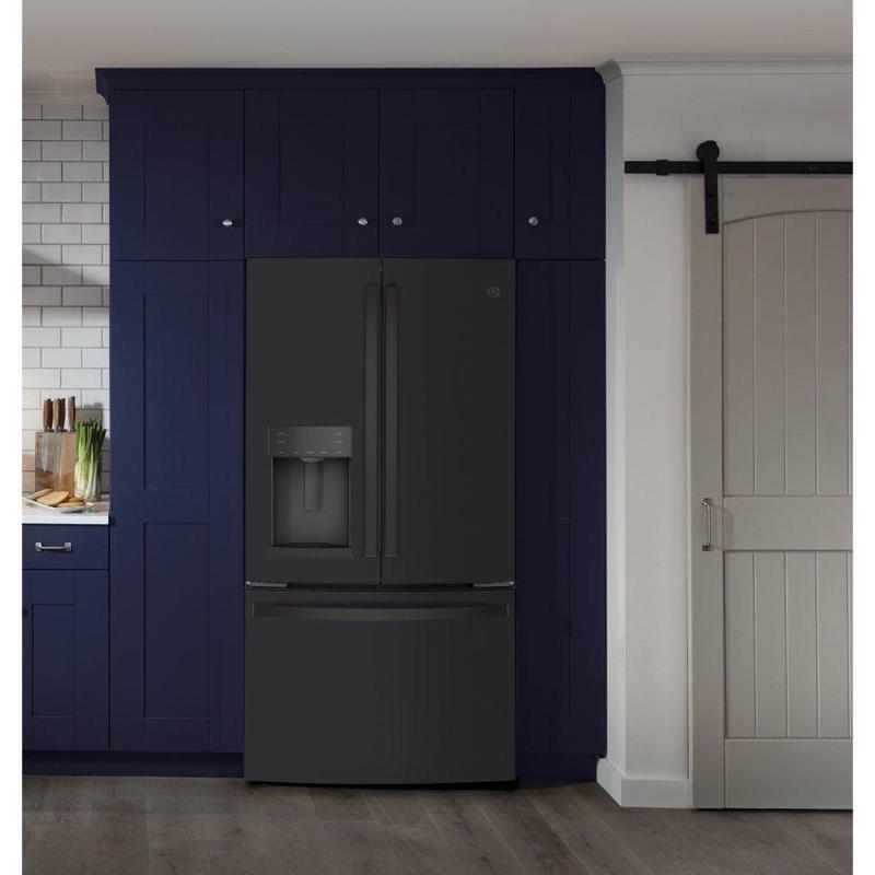 GE® ENERGY STAR® 22.1 Cu. Ft. Counter-Depth French-Door Refrigerator