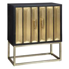 2-8300 Brass Door Cabinet