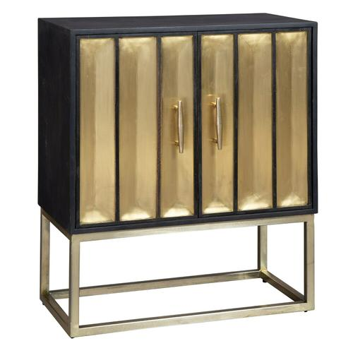 2-8300 Brass Door Cabinet