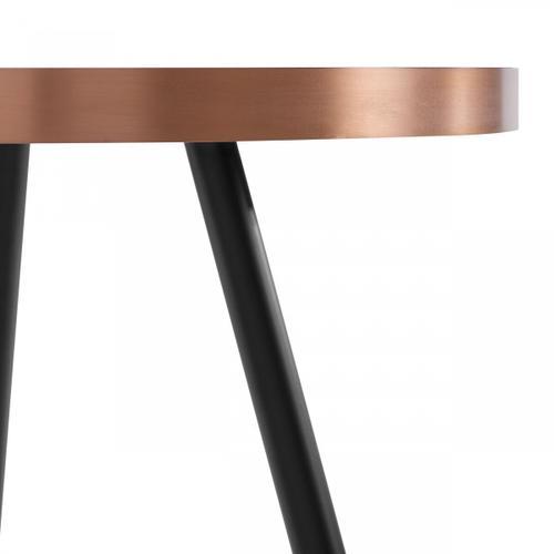 VIG Furniture - Modrest Cayson - Modern Black Ceramic Small Coffee Table