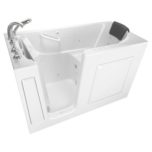 Premium Series 30x60-inch Walk-In Tub with Combo Massage Systems  American Standard - White